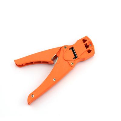 Network Modular Plug Crimping Tool With Cable Stripper(T5003)