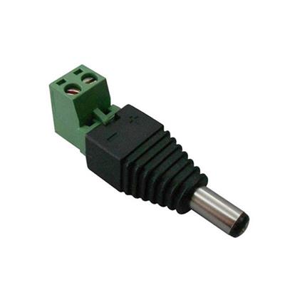 5.5*2.1mm Male DC Power Plug With Screw Terminals(PC100)