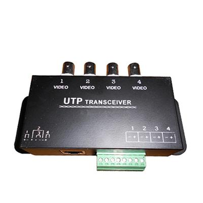 4 Channel Passive CCTV UTP Video Balun (VB140B)