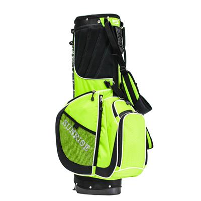 Custom Leather Golf Equipment Sports Bag With Zippered