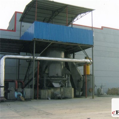 Single Stage Hot Coal Gas Gasifier