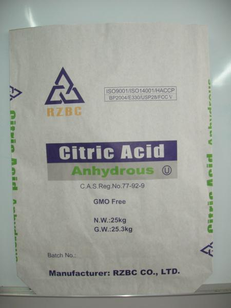citric acid & citrates