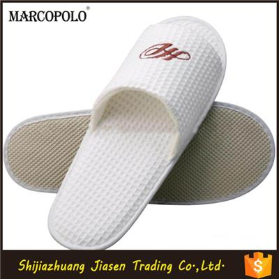 Disposable Open Toe Slipper Non-Slip Sole Hotel Slipper