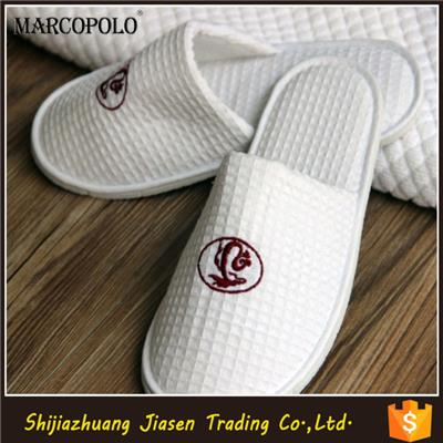 Customized Logo Slipper For Hotel With Good Quality/hot Sale Hotel Slipper