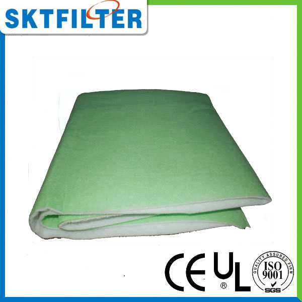 Nonwoven self support filter media