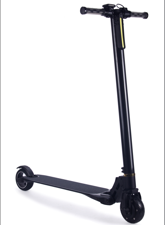 new material two wheel electric scooter with hand bar