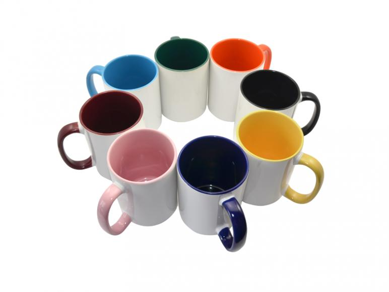 Ceramic mugs-11oz color mugs