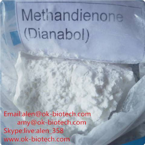 Phurchase 99% Oral Anabolic Muscle Building Steroids Dianabol / Methandienone Powder CAS 72-63-9 from China