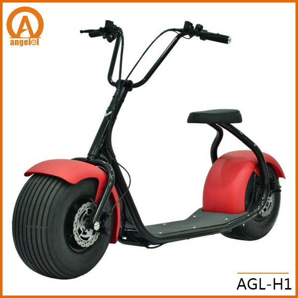 2016 popular Harley scrooser style electric scooter with big wheels
