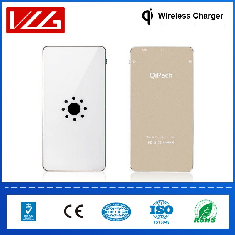 Qi wireless charger powerbank