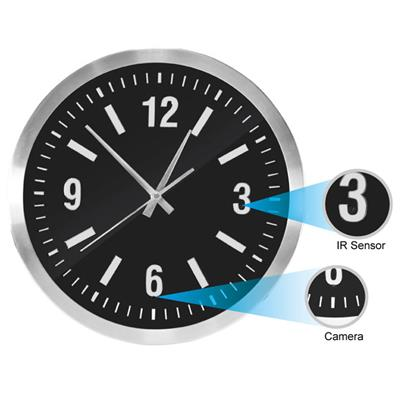 Wall Clock Hidden Camera IP DVR Nanny Camera