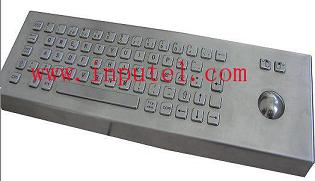 Industrial desktop keyboard