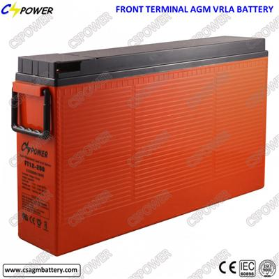 12V200ah Front Terminal Battery for Telecom Project