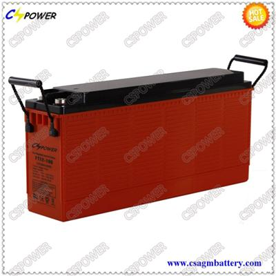12V100ah Gel Front Terminal Battery for Telecom