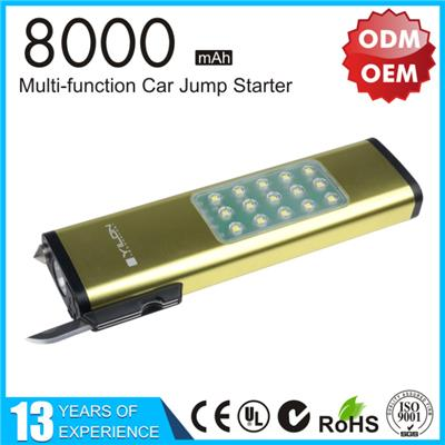 YLPB-122  8000mah Mini Car Jump Starter
