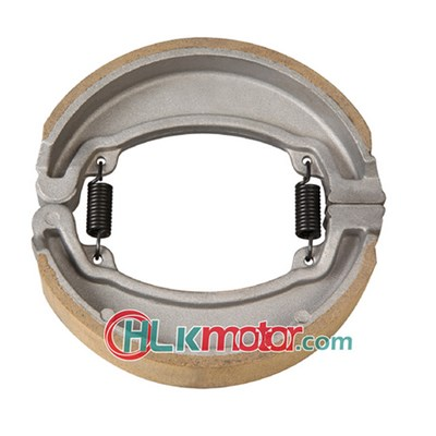 Motorcycle brake shoe, durable, high performance