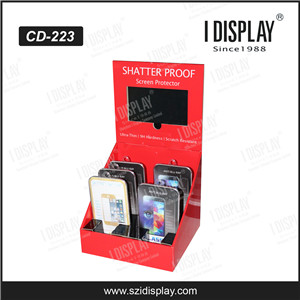 2016 Pop Counter Top Cardboard Display Stand LCD With Video Player For New Products Lauch