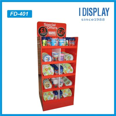 Made In China Customized Full Color Printed Cardboard Pen Display Racks