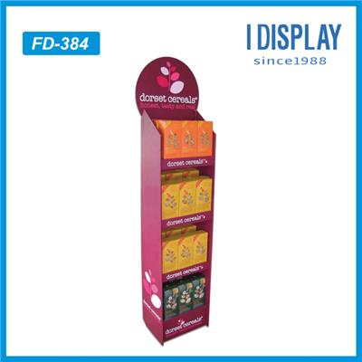 POP Free Standing Cardboard Floor Display Stand For Plush Toys
