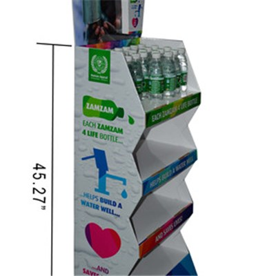 Customized Making Free Floor Standing Displays Rack Manufacturer