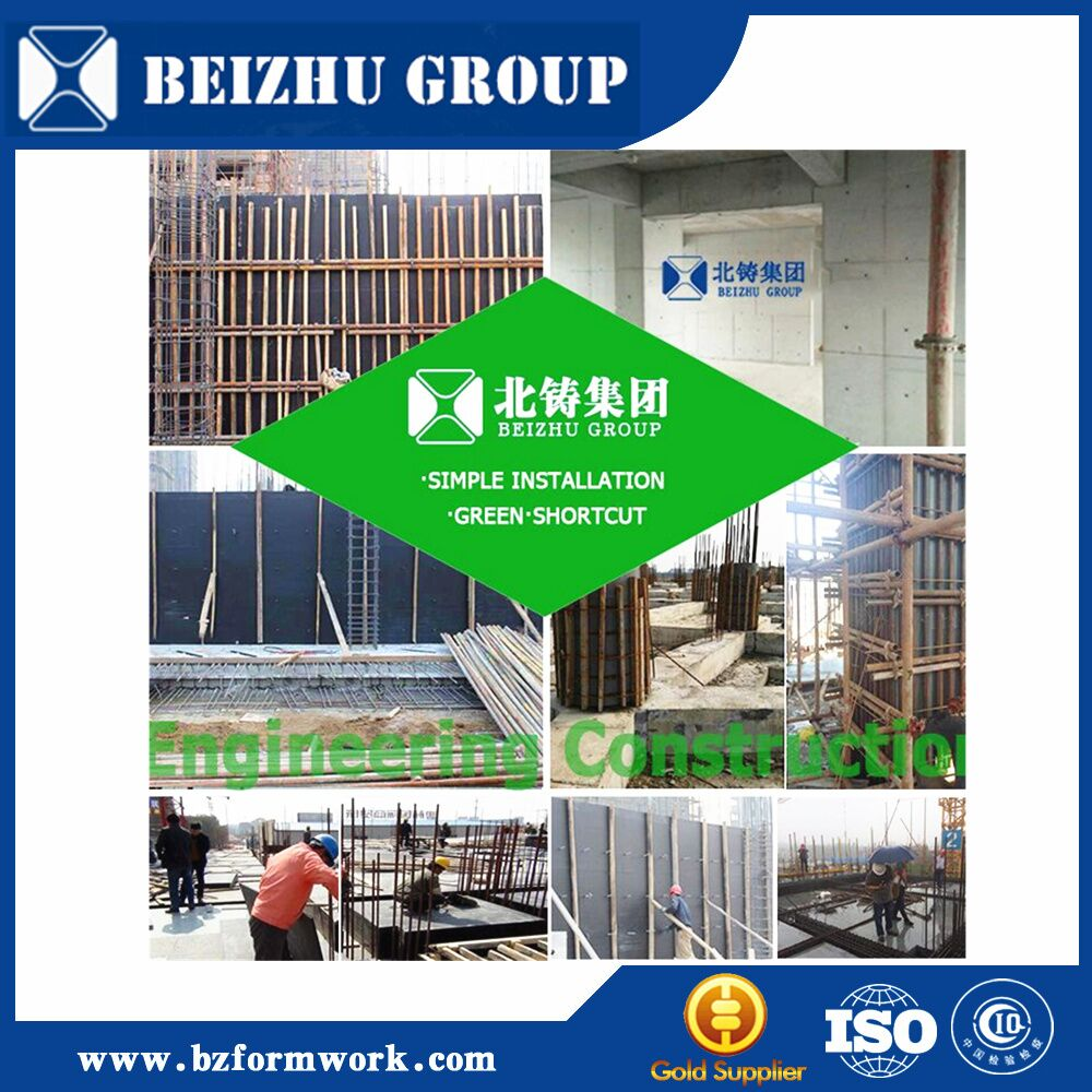 China factory supply 2016 hot selling plastic concrete formwork