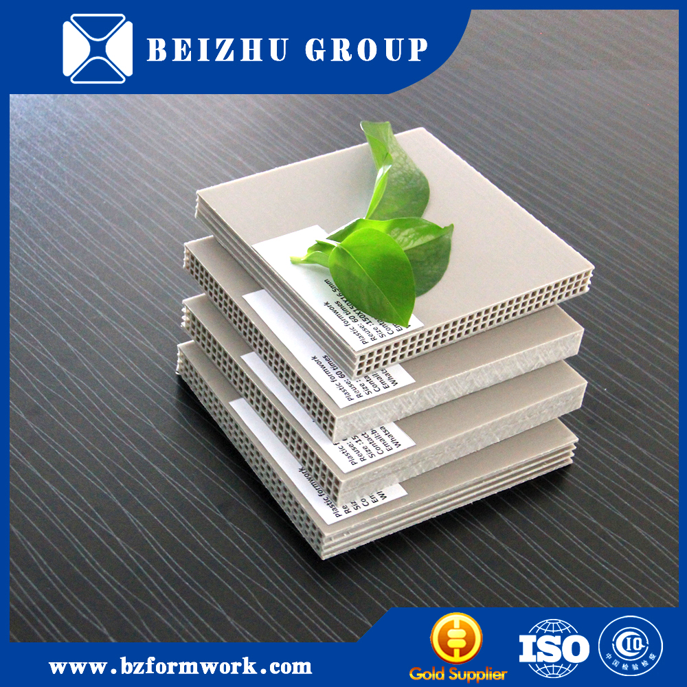 China manufacture supply more than 60 reusable times plastic wall concrete panel