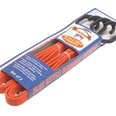 Flat Bungee Cords 2PC