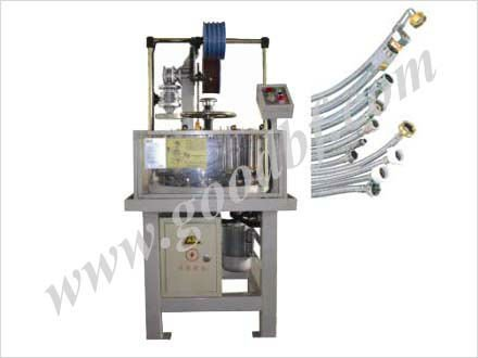 Vertical automatic hose braiding machine series