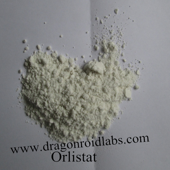 Raw Material Orlistat for Weight Loss www.dragonroidlabs.com   CAS:96829-58-2 MF:C29H53NO5 MW:495.73 Product Categories:	Pharmaceutical Raw  mp :<50 °C storage :temp.2-8°C solubility DMSO: 19 mg/mL fo