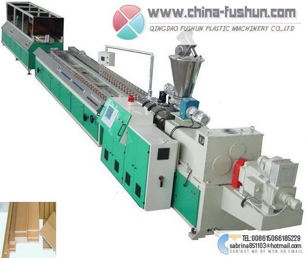 Wood Plastic Board Production line plastic machinery