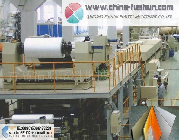 Aluminum-plastic composite plate (APCP) production line