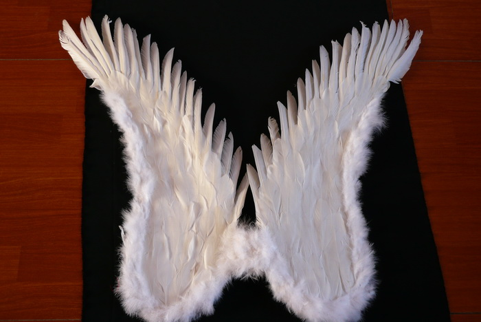 feather angel wings for sale - China supplier W-1012