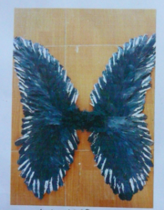 feather angel wings for sale - China supplier W-1002