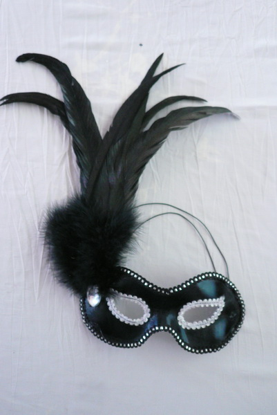 lovely feather masks for sale - Made in China 1110