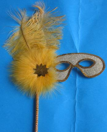 lovely feather masks for sale - Made in China M-509