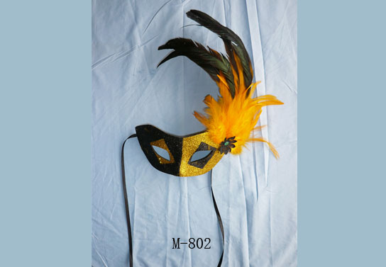 Cheap feather masks for sale - Made in China M-802
