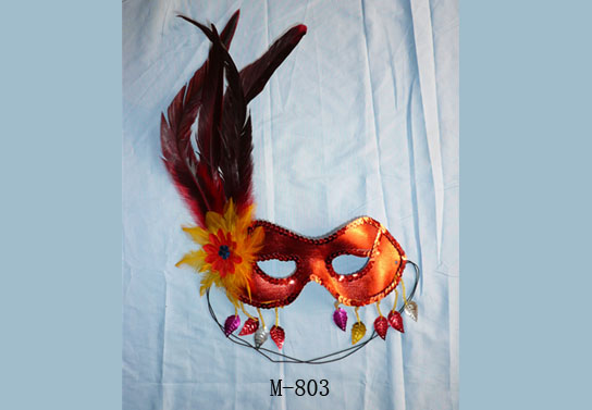Cheap feather masks for sale - Made in China M-803