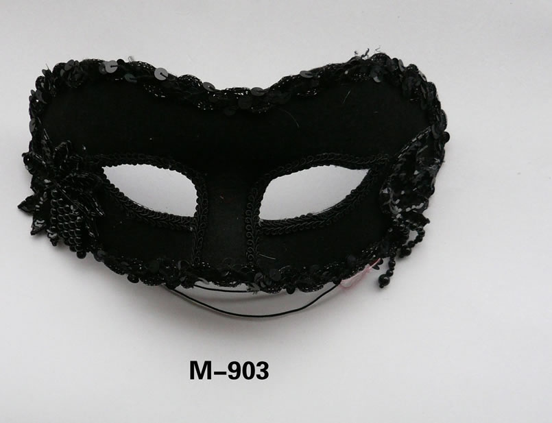 Cheap feather masks for sale - Made in China M-903