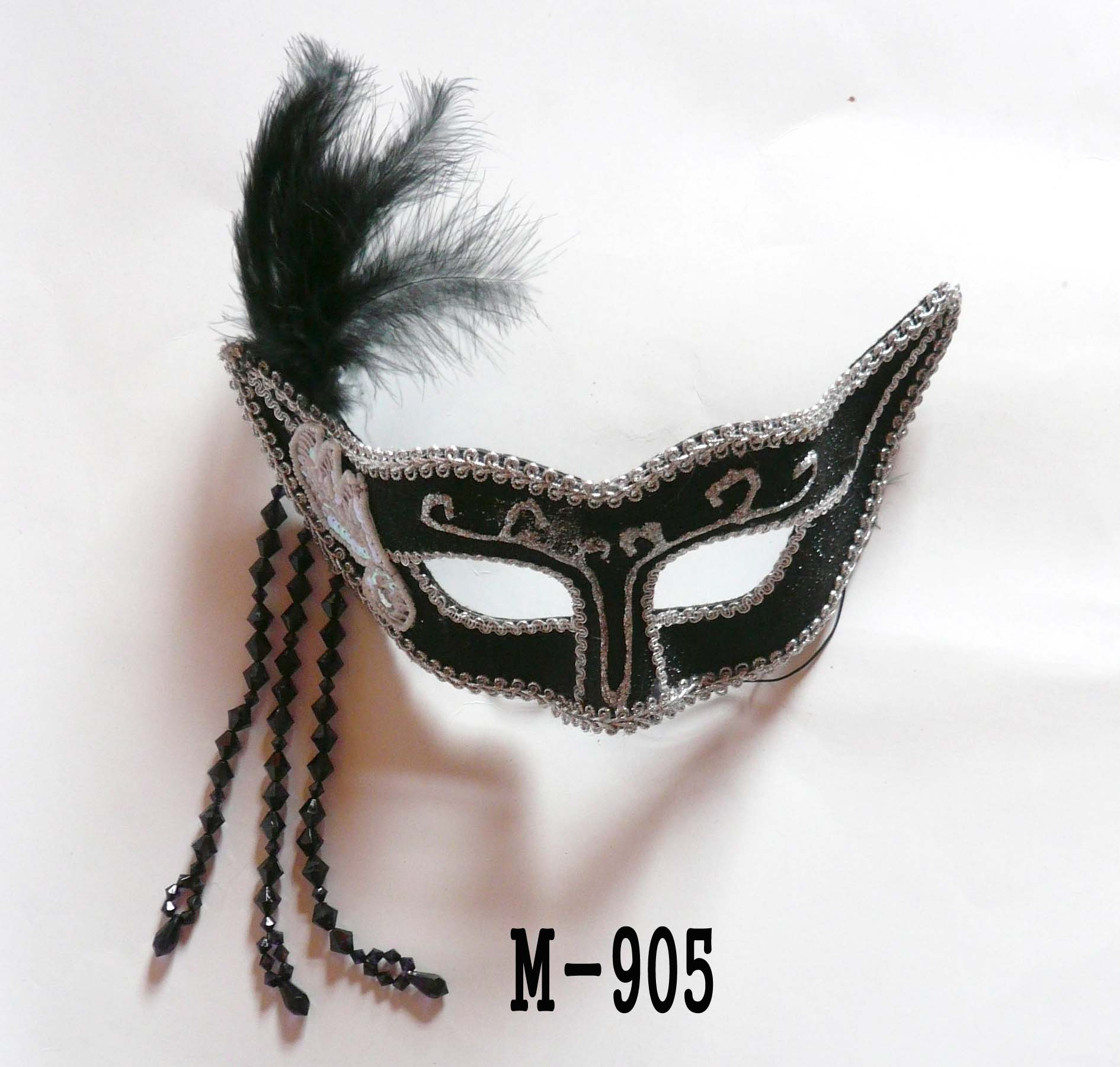 Cheap feather masks for sale - Made in China M-905