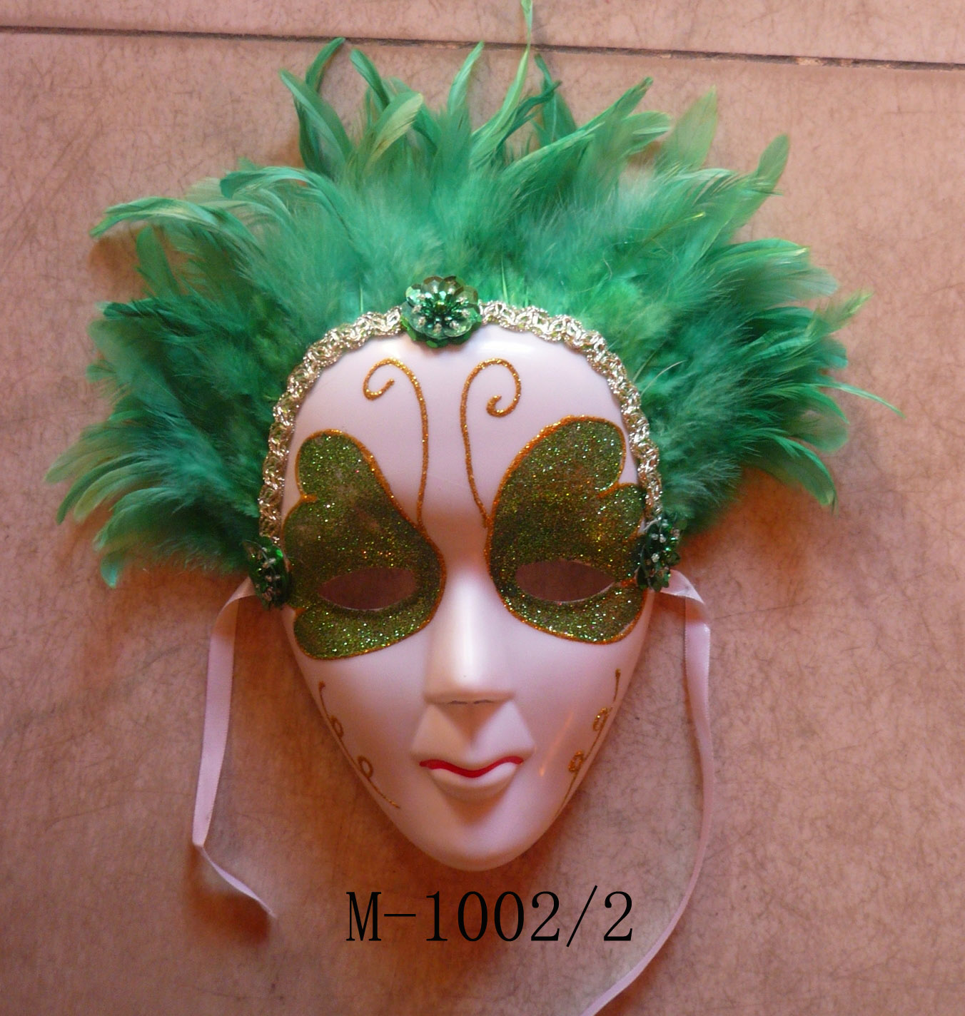 Cheap feather masks for sale - Made in China M-1002/2