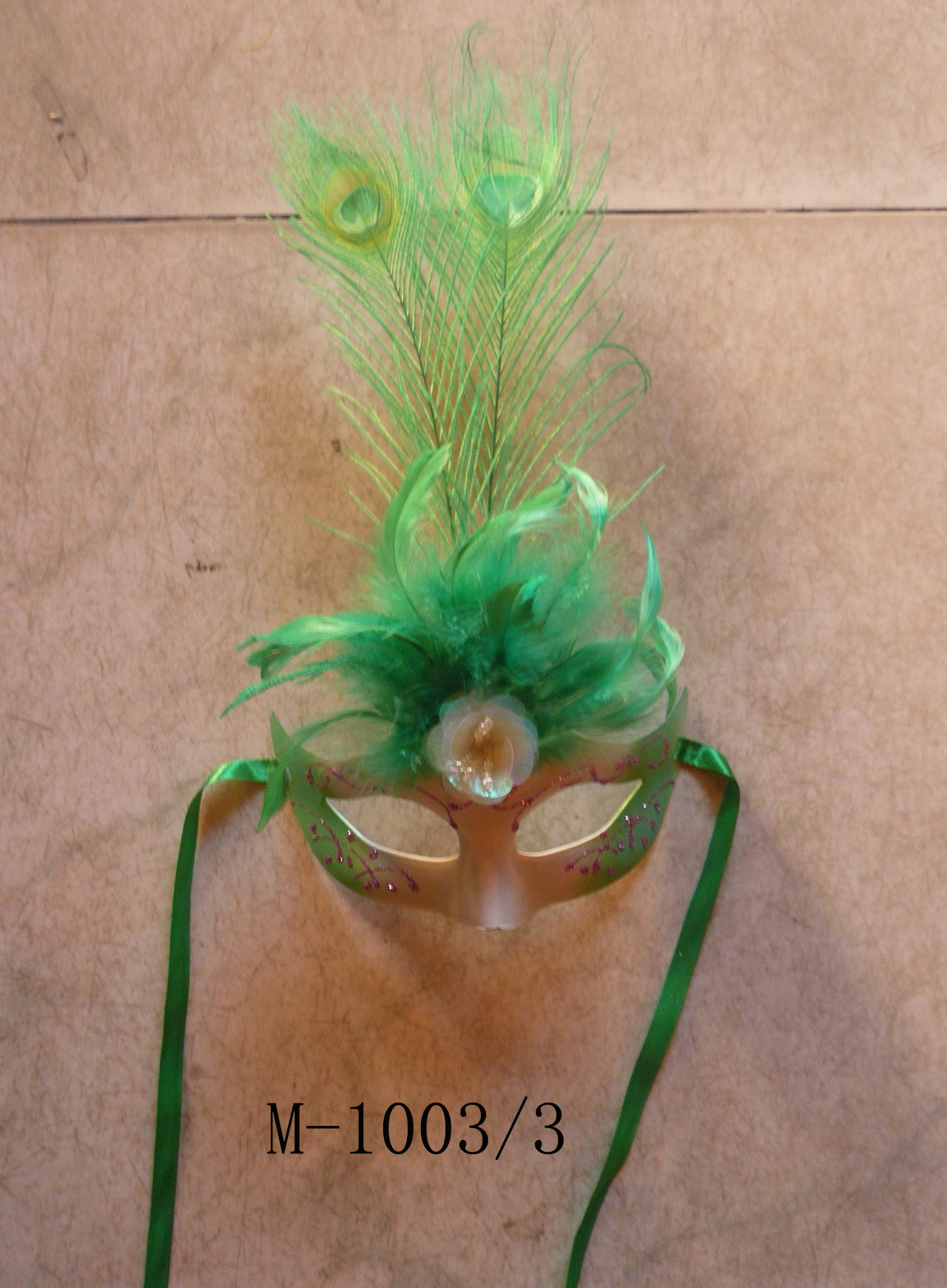 Cheap feather masks for sale - Made in China M-1003/3