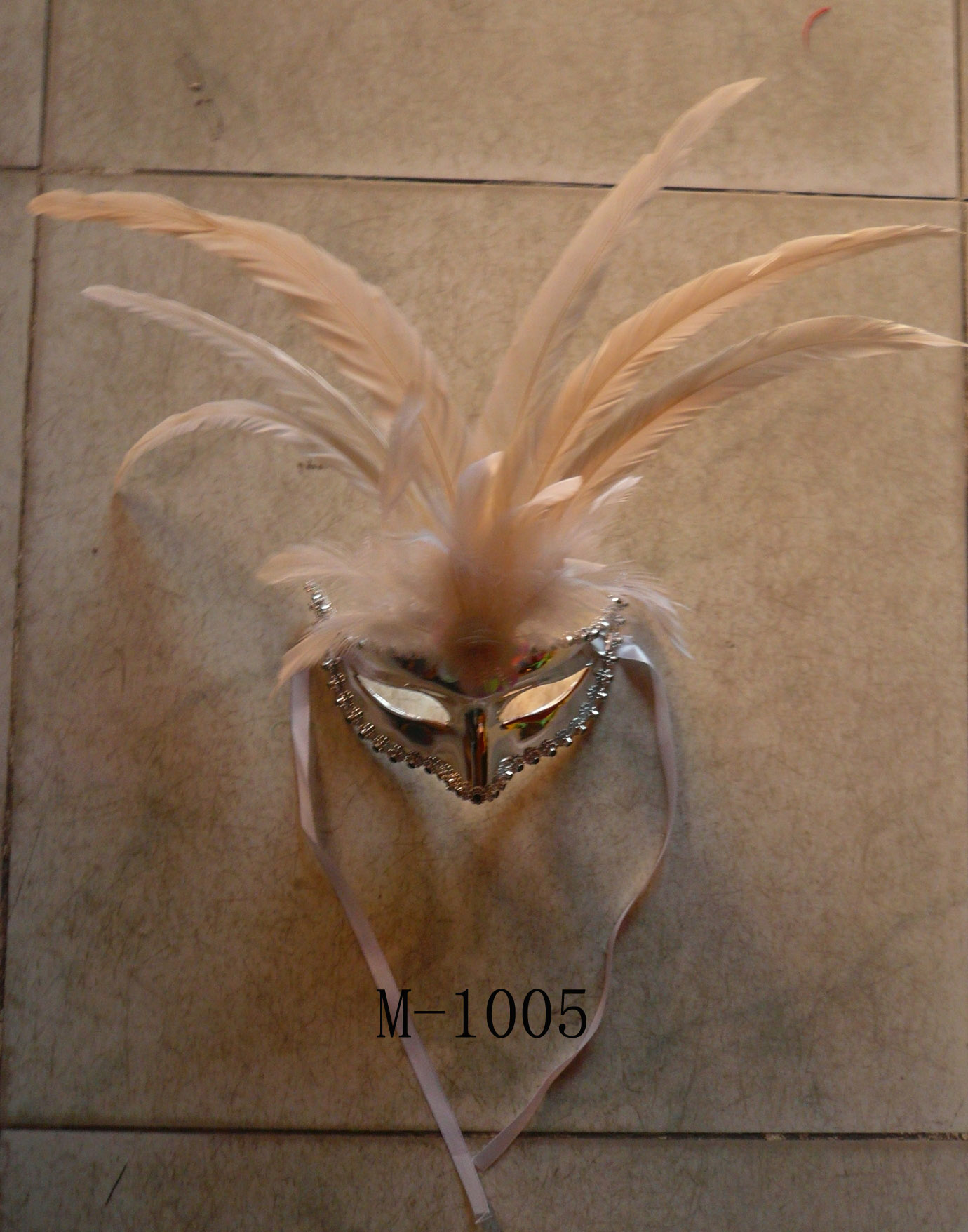Cheap feather masks for sale - Made in China M-1005
