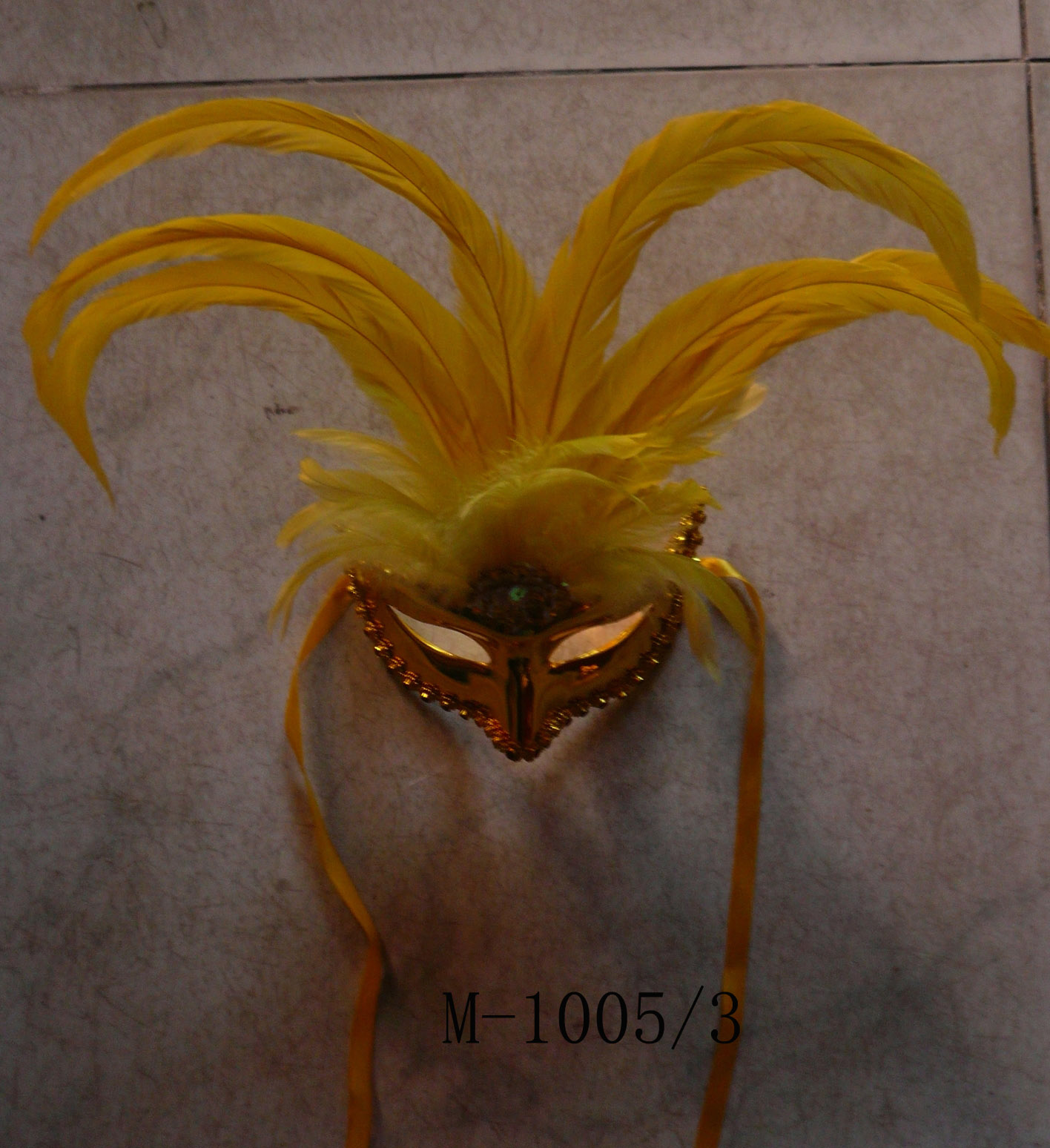Cheap feather masks for sale - Made in China M-1005/3