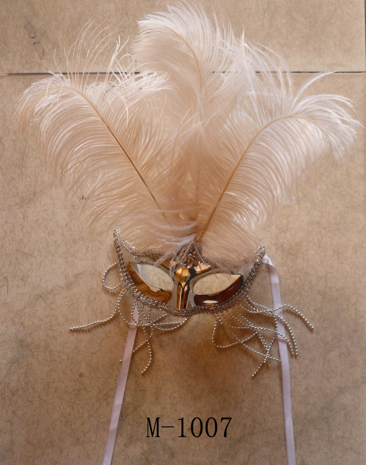 Cheap feather masks for sale - Made in China M-1007