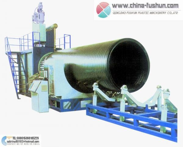 HDPE heavy-caliber hollow twines tube plastic machinery