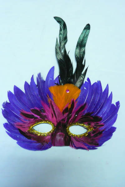 Cheap feather masks for sale - Made in China M-1020