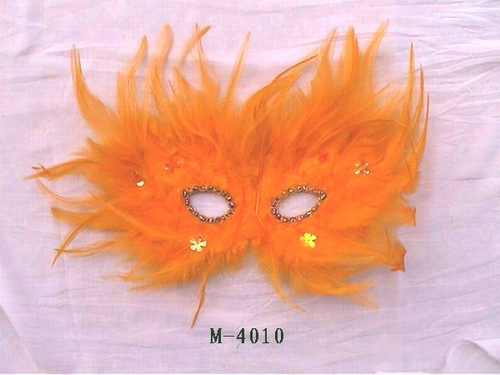 Cheap feather masks for sale - Made in China M-4010