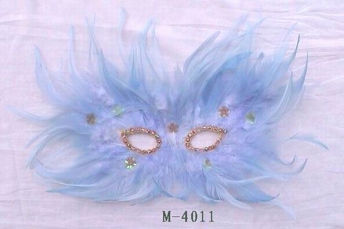 Cheap feather masks for sale - Made in China M-4011