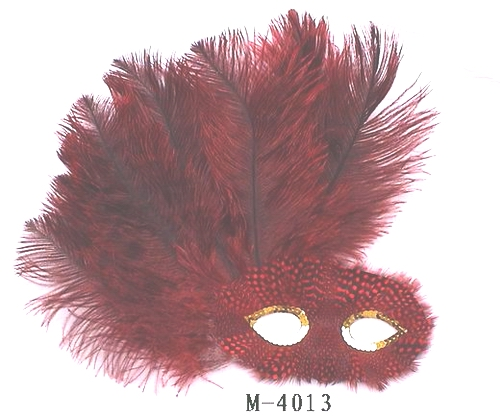 Cheap feather masks for sale - Made in China M-4013