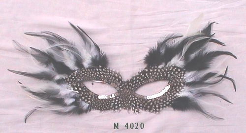 Cheap feather masks for sale - Made in China M-4020